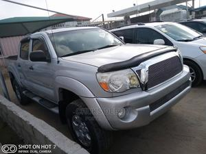 Toyota Tacoma 2008 4x4 Double Cab Silver   Cars for sale in Lagos State, Amuwo-Odofin