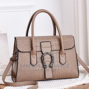 Luxury Crocodile Pure Leather Handbag For Classic Ladies   Bags for sale in Lagos State, Ikeja