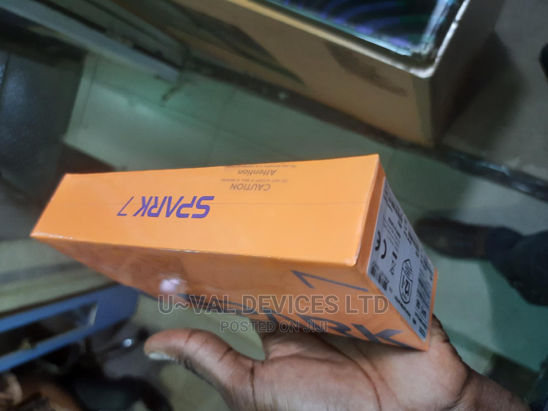 New Tecno Spark 7P 64 GB Black | Mobile Phones for sale in Ikeja, Lagos State, Nigeria