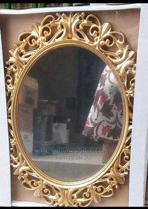 Gold Elegant Mirror ( 70*50cm)   Home Accessories for sale in Lagos State, Surulere