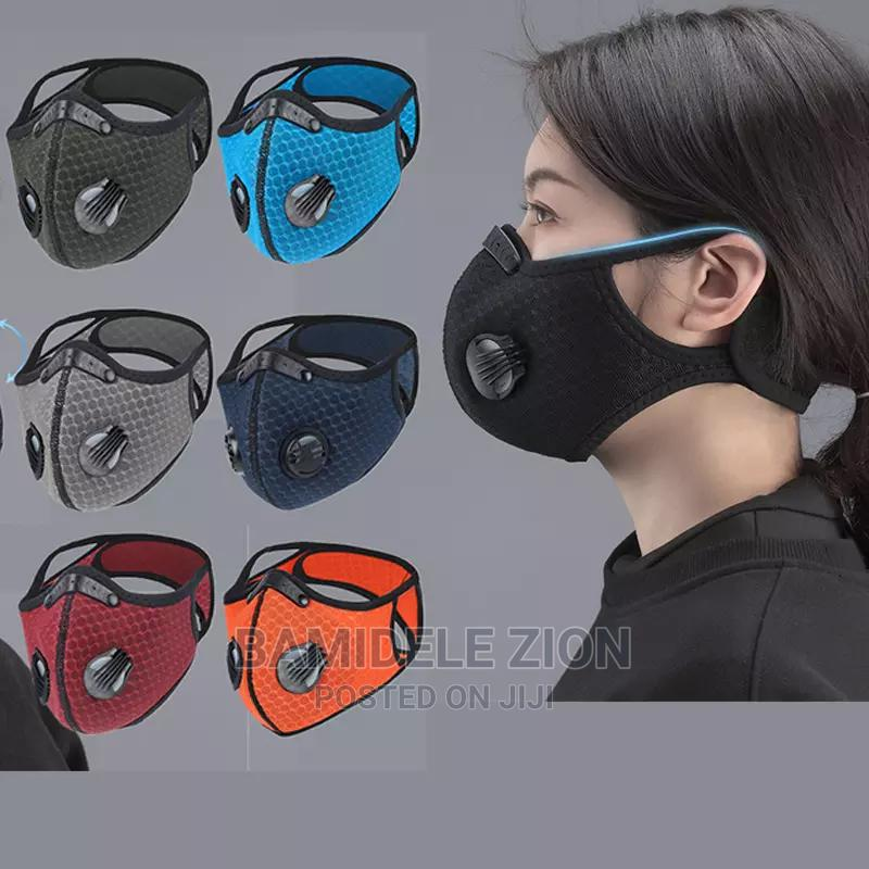 N95 Sport Mask Active Carbon Dust Mask 5× More Power | Safetywear & Equipment for sale in Alimosho, Lagos State, Nigeria