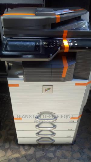 Sharp Coloured Copier Model MX-3114N | Printers & Scanners for sale in Lagos State, Ojo