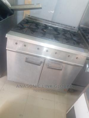 6 Bunner Gas With Oven for Commerial Used | Restaurant & Catering Equipment for sale in Lagos State, Ojo