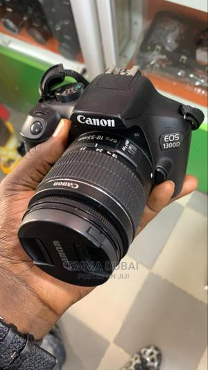 Used Canon Eos 1300d - 18mp Digital Slr Camera With 18-55mm   Photo & Video Cameras for sale in Lagos State, Ikeja