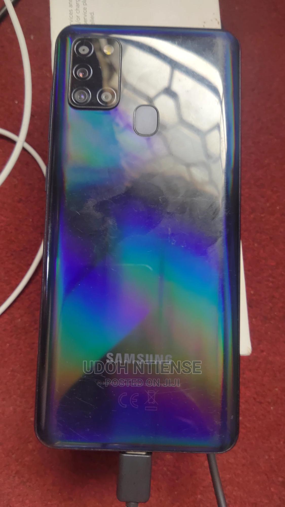 Samsung Galaxy A21s 64 GB Black | Mobile Phones for sale in Benin City, Edo State, Nigeria