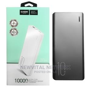 Casim 10000 Ultra Thin Power Bank   Accessories for Mobile Phones & Tablets for sale in Lagos State, Ikeja