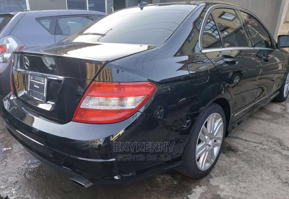 Mercedes-Benz C300 2009 Black   Cars for sale in Ikeja, Lagos State, Nigeria