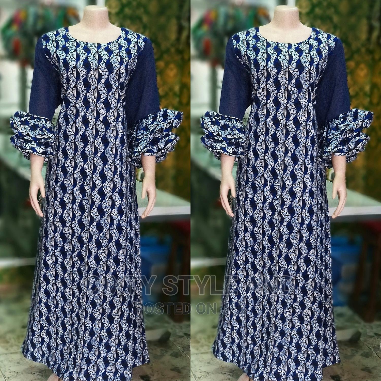 Stylish Ankara Long Gown