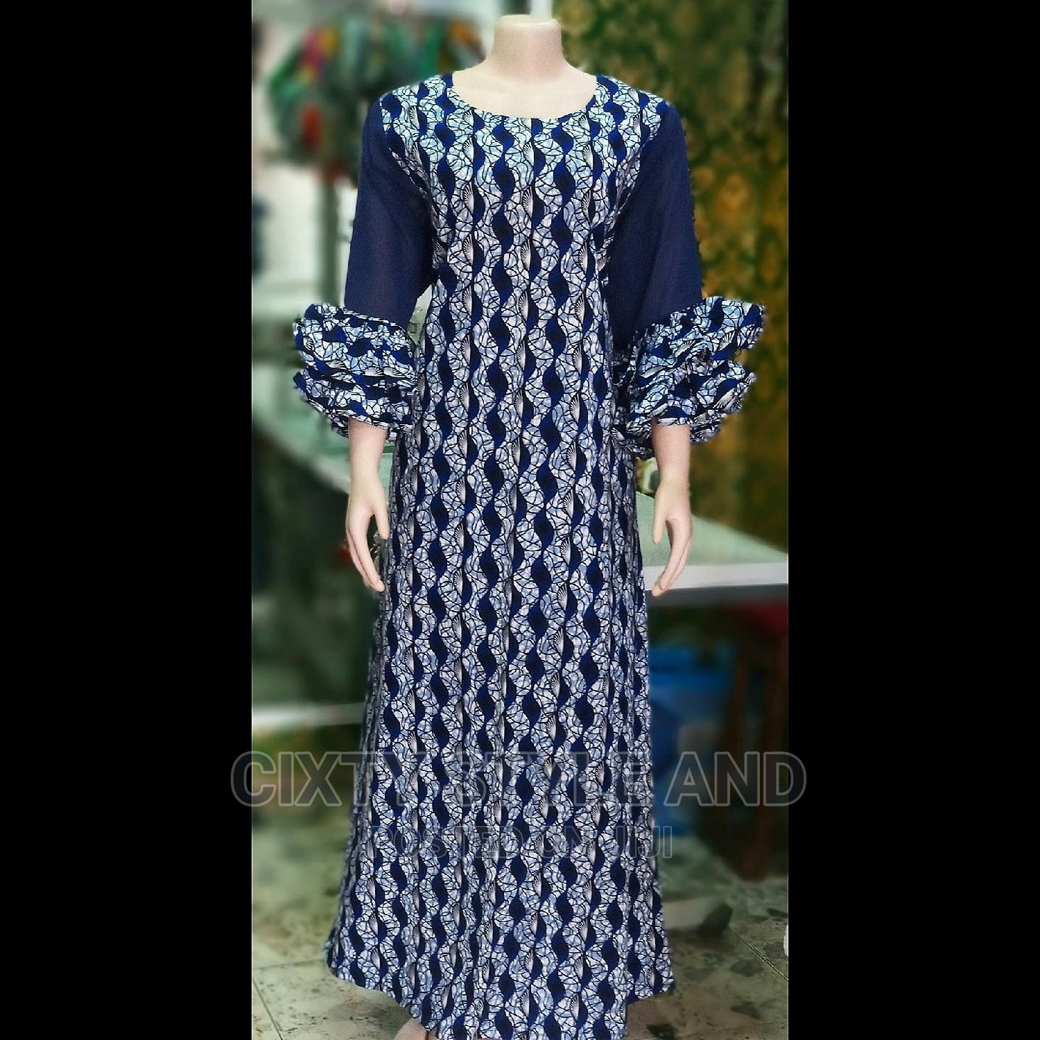 Stylish Ankara Long Gown | Clothing for sale in Wuse, Abuja (FCT) State, Nigeria