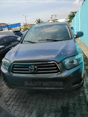 Toyota Highlander 2008 4x4 Gray | Cars for sale in Lagos State, Ikeja