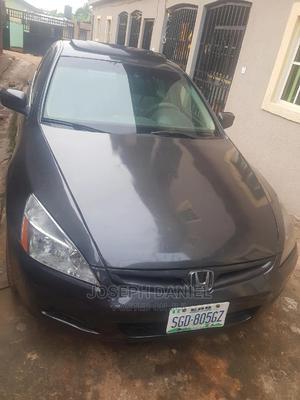 Honda Accord 2005 Sedan LX V6 Automatic Gray | Cars for sale in Edo State, Benin City