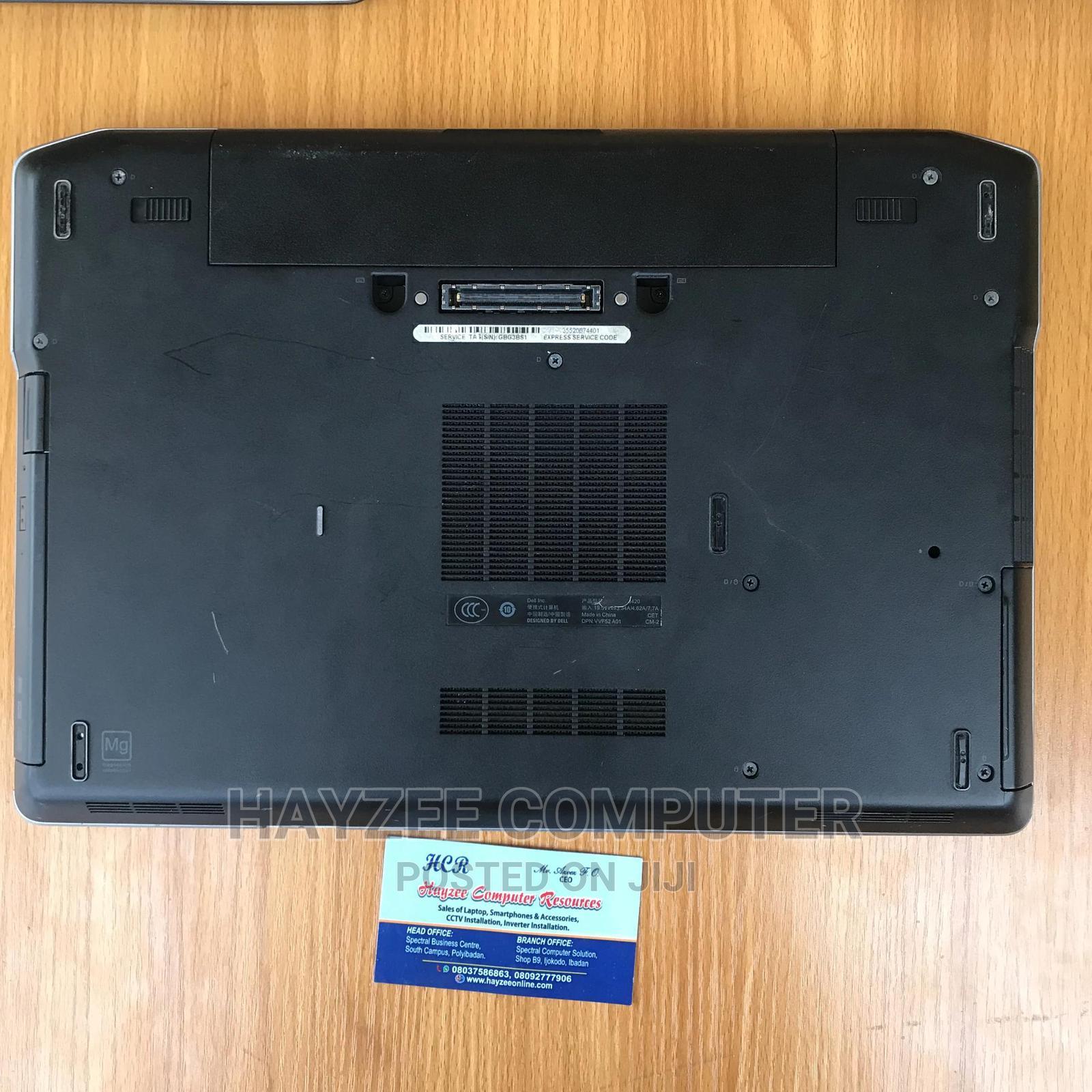 Laptop Dell Latitude E6420 4GB Intel Core I5 HDD 250GB | Laptops & Computers for sale in Ibadan, Oyo State, Nigeria