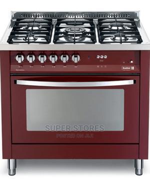 4gas Burner With 1 WOK Burner SCFTPD95 B Red-Scanfrost Jul14   Kitchen Appliances for sale in Lagos State, Alimosho