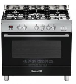 4gas Burners,1 Wok Burnerovenscftpd95anthra-Scanfrost Jul27   Kitchen Appliances for sale in Lagos State, Alimosho