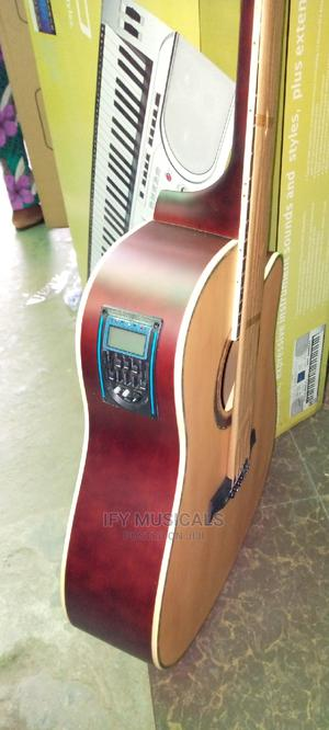 Electric Acoustic Guitar With Bag | Musical Instruments & Gear for sale in Lagos State, Ojo