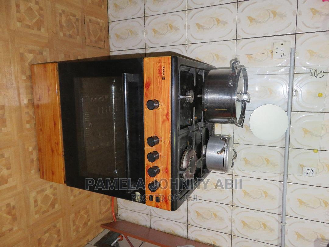 Scan Frost Gas Cooker