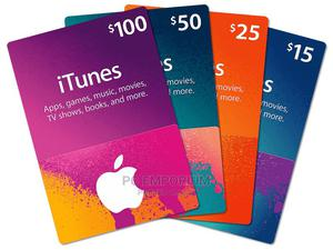 Apple iTunes Gift Card | Accessories & Supplies for Electronics for sale in Abuja (FCT) State, Gudu