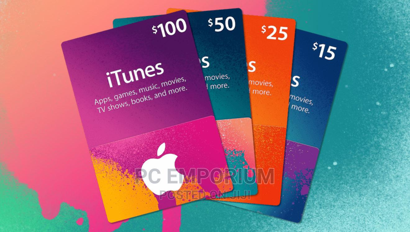 Apple iTunes Gift Card | Accessories & Supplies for Electronics for sale in Gudu, Abuja (FCT) State, Nigeria