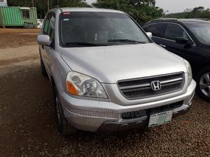Honda Pilot 2003 Silver | Cars for sale in Abuja (FCT) State, Katampe