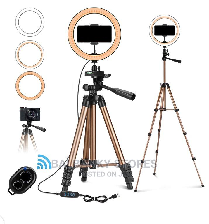 Archive: 10 Inches Ringlight With Tripod Stand
