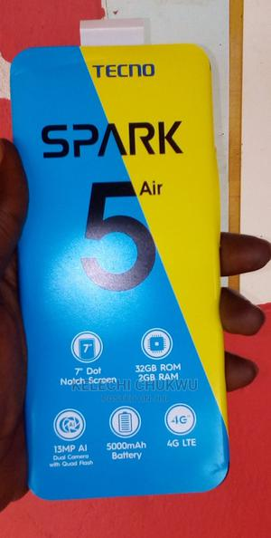 New Tecno Spark 5 Air 32 GB Blue | Mobile Phones for sale in Kaduna State, Kaduna / Kaduna State