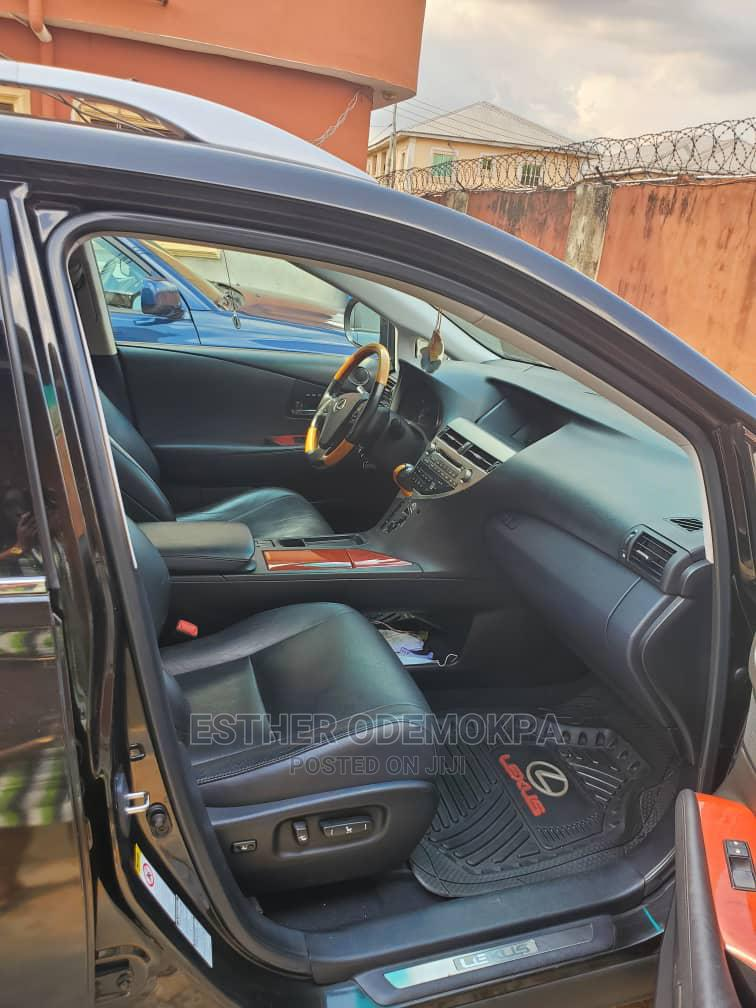 Lexus RX 2012 350 AWD Black | Cars for sale in Benin City, Edo State, Nigeria