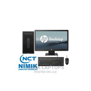New Desktop Computer HP 4GB Intel Pentium HDD 1T | Laptops & Computers for sale in Lagos State, Ikeja