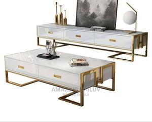 TV Stand With Center Table | Furniture for sale in Lagos State, Ikeja