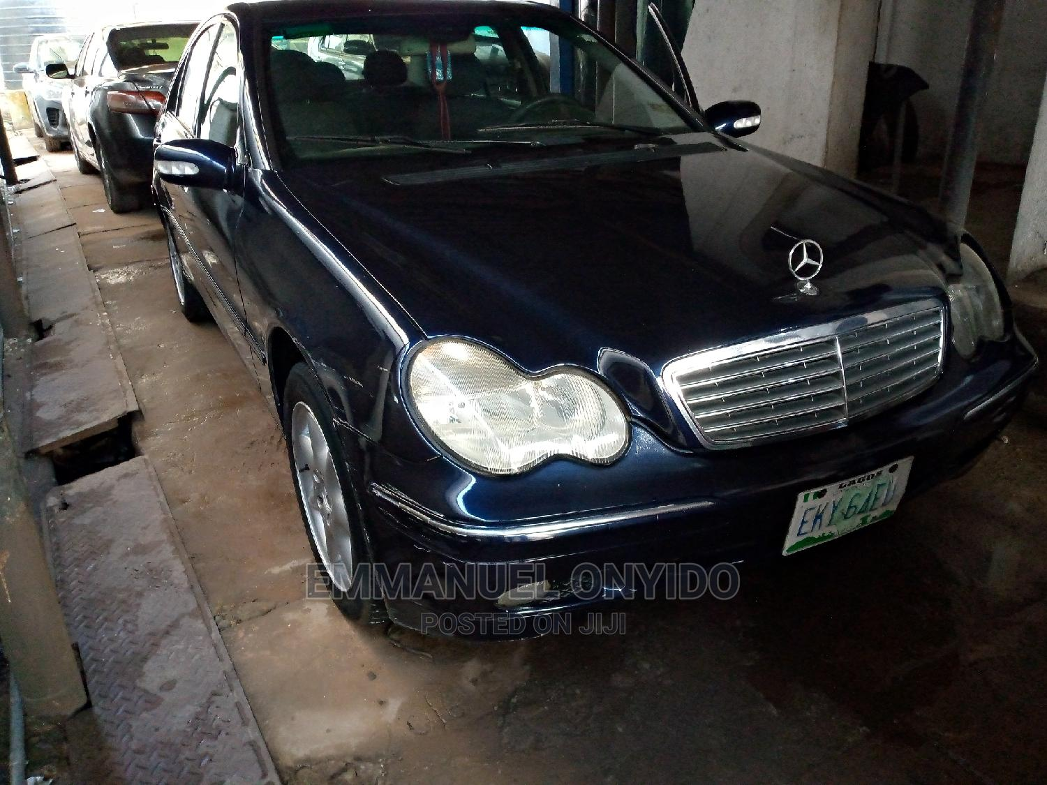 Mercedes-Benz C240 2004 Blue   Cars for sale in Onitsha, Anambra State, Nigeria