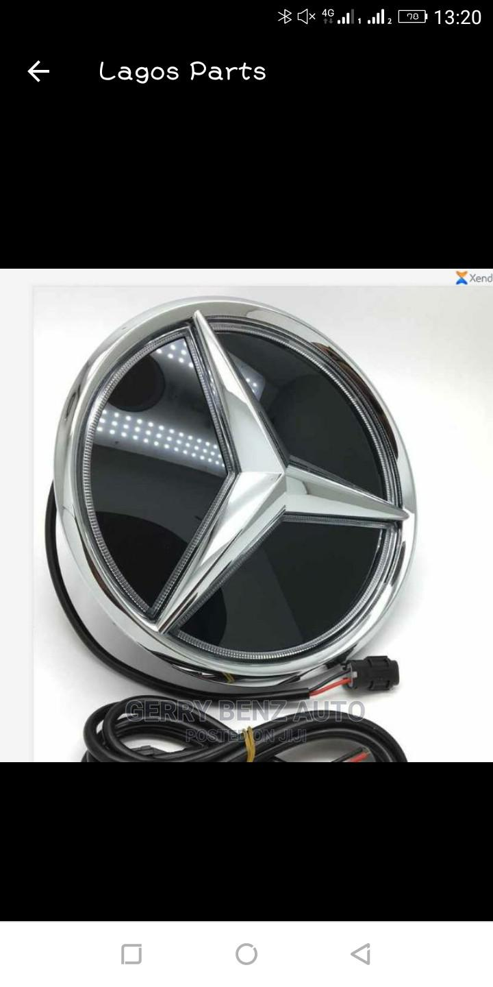 Archive: Front Grille Logo for C300,E350,GLK350,ML350 MERCEDES BENZ