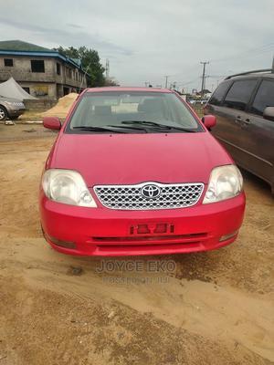 Toyota Corolla 2003 Sedan Automatic Red | Cars for sale in Delta State, Warri