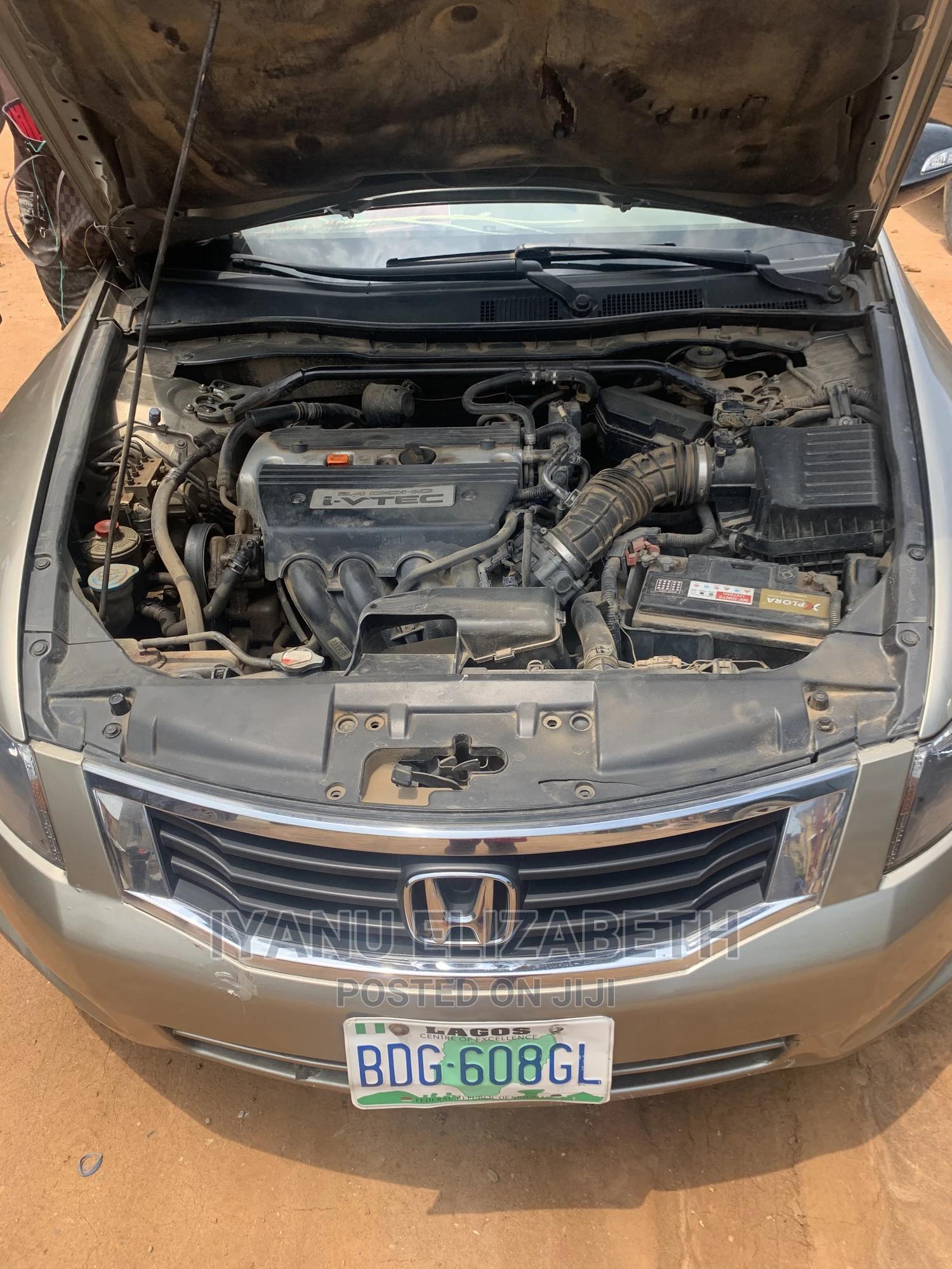 Archive: Honda Accord 2008 2.4 EX Automatic Gold