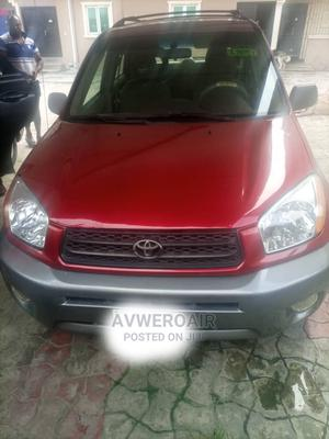 Toyota RAV4 2004 2.0 4x4 Red | Cars for sale in Delta State, Warri