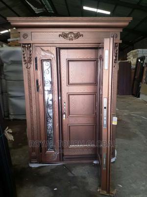 4ft Copper Door in Door With Glass | Doors for sale in Lagos State, Orile