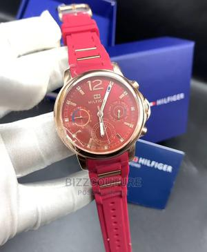 High Quality TOMMY HILFIGER Rubber Watch for Men   Watches for sale in Lagos State, Magodo
