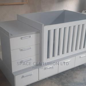 Baby Bed Frame With Multiple Storage Units | Children's Furniture for sale in Lagos State, Ipaja