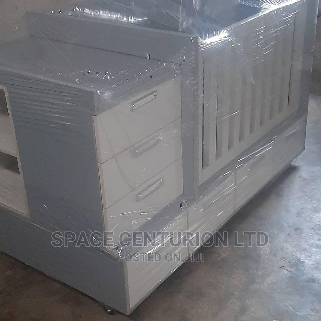 Baby Bed Frame With Multiple Storage Units | Children's Furniture for sale in Ipaja, Lagos State, Nigeria