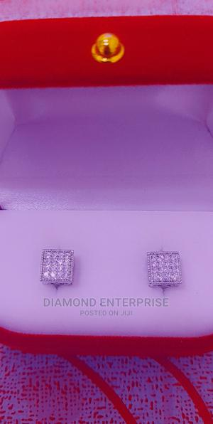 Earring Zirconia Silver   Jewelry for sale in Lagos State, Amuwo-Odofin