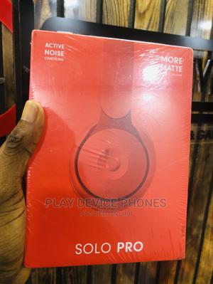 Beat By Dre Solo PRO Headphone- Red | Headphones for sale in Lagos State, Ikeja