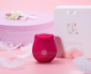 Rechargeable Rose Clitoral Stimulator Suction Vibrator | Sexual Wellness for sale in Lagos State, Alimosho