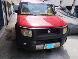 Honda Element 2006 LX Automatic Red | Cars for sale in Lagos State, Surulere
