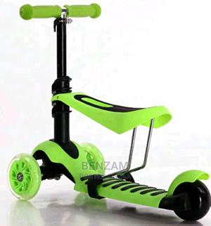 Hurtle 3-Wheeled Scooter for Kids - Wheel LED Lights   Toys for sale in Lagos State, Amuwo-Odofin
