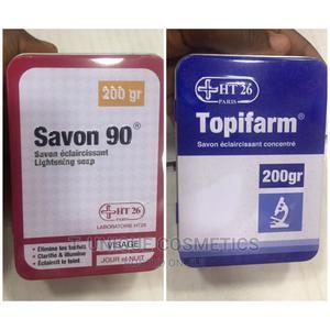 Ht26 Savon 90 and Topifarm Lightening Soap | Bath & Body for sale in Lagos State, Ikorodu
