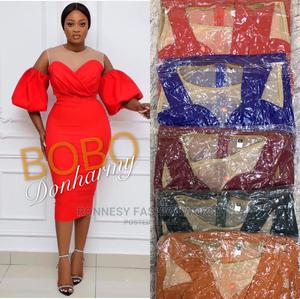 Classic Elegant Trendy Female Quality Fitted Gown   Clothing for sale in Lagos State, Ikeja