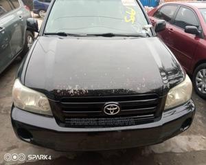 Toyota Highlander 2004 Black | Cars for sale in Lagos State, Gbagada