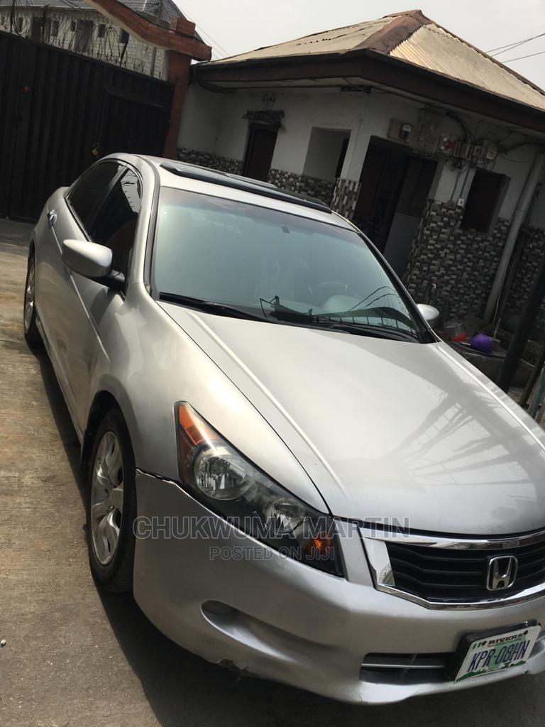 Honda Accord 2008 Silver
