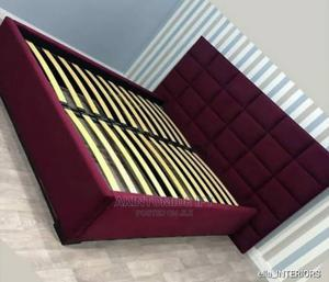 Red Luxury Bed | Furniture for sale in Lagos State, Ikeja
