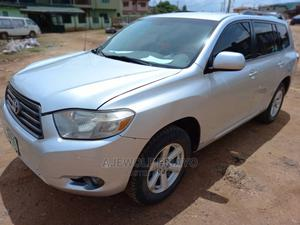 Toyota Highlander 2009 4x4 Silver | Cars for sale in Lagos State, Alimosho