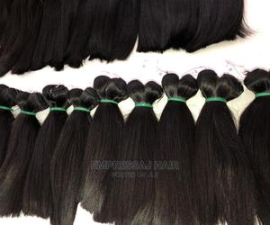 """Super Bone Straight Raw Hair. Available From 10"""" To 28"""" 
