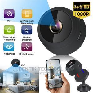 Wireless Hidden Wifi Mini 1080P Spy Camera | Security & Surveillance for sale in Lagos State, Ikeja
